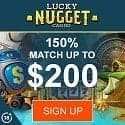 Lucky Nugget - special canada bonus of 50 spins