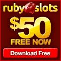 Ruby Slots - Claim 50 spins